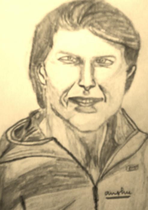 Tom Cruise by AvinashJhaAnshu